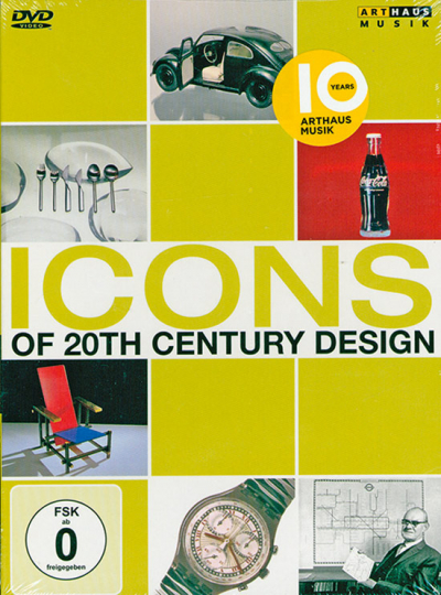 Icons of 20th Century Design. DVD.
