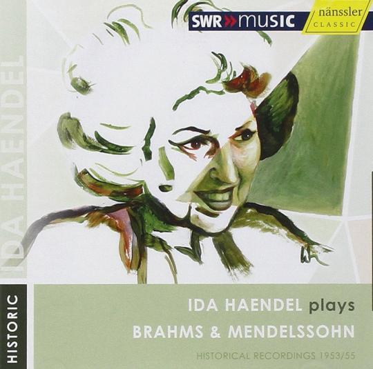 Ida Haendel spielt Brahms & Mendelssohn. CD.