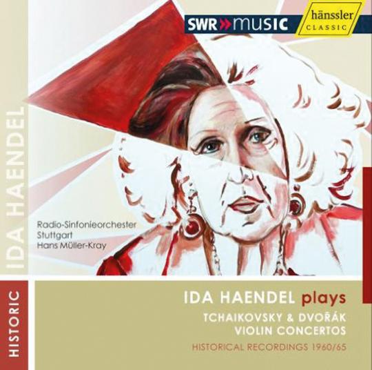 Ida Händel spielt Tschaikowsky & Dvorák. CD.