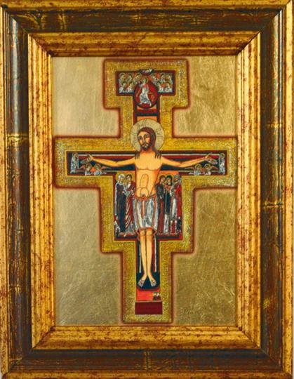 Ikone - Franziskus Kreuz