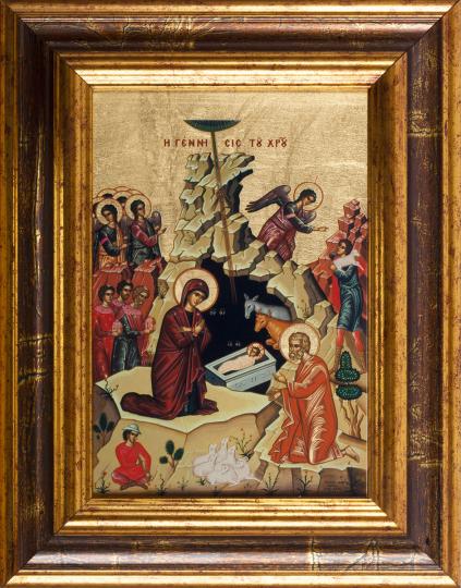 Ikone »Die Geburt Christi«.