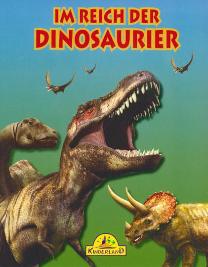 Im Reich der Dinosaurier Buch & DVD