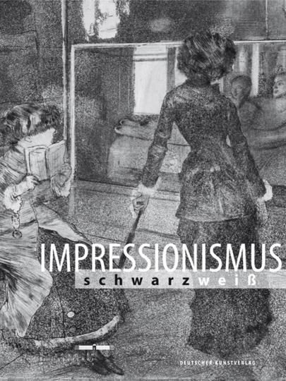Impressionismus schwarz/weiß.