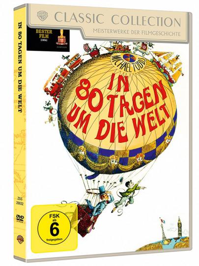 In 80 Tagen um die Welt (Special Edition). 2 DVDs.