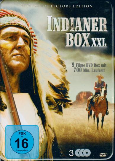 Indianer-Box XXL 3 DVDs