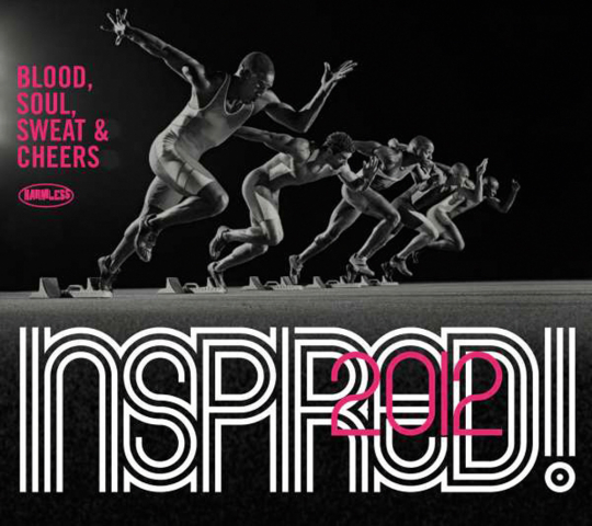 Inspired! 2012. Blood, Soul, Sweat & Cheers. 2 CDs.