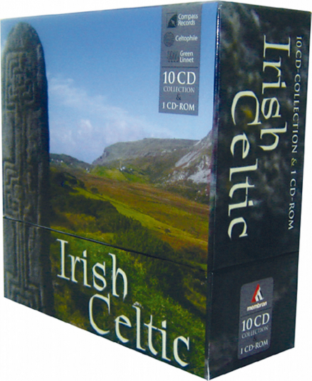 Irish Celtic 10 CDs & CD-ROM