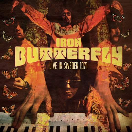 Iron Butterfly. Live In Sweden 1971. CD.