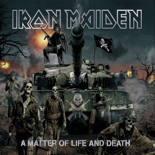 Iron Maiden. A Matter of Life and Death (Collector's Edition). 1 CD, 1 Figur.