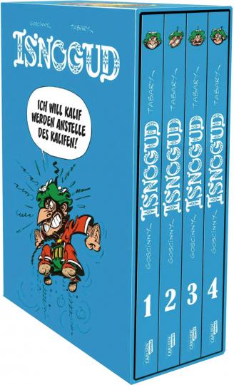 Isnogud. Die Goscinny-Jahre. 4 Bände.