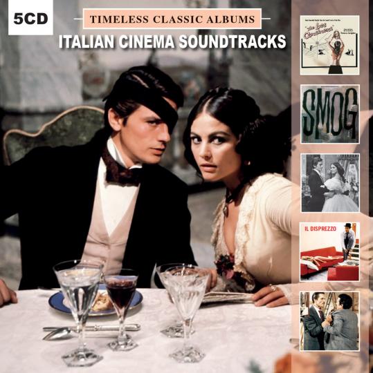 Italian Cinema Soundtracks. Timeless Classic Albums. 5 CDs.
