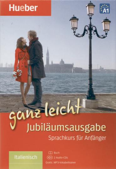 Italienisch ganz leicht Jubiläumsausgabe - Buch + 2 Audio-CDs