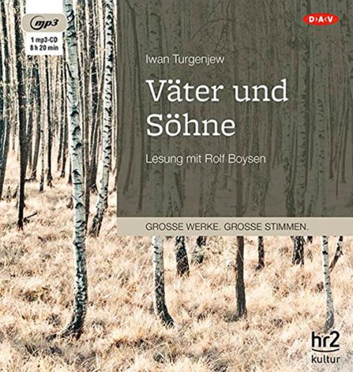 Iwan Turgenjew. Väter und Söhne. mp3-CD.