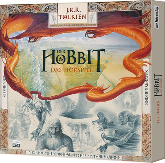 J.R.R. Tolkien. Der Hobbit. Hörspiel als Vinyl-Edition. 7 LPs.