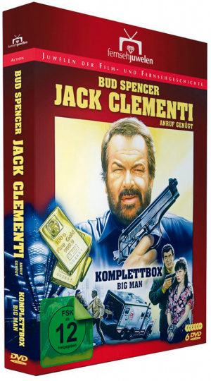 Jack Clementi - Bud Spencer 6 DVDs