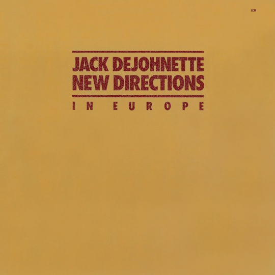Jack DeJohnette. New Directions (Touchstones). CD.