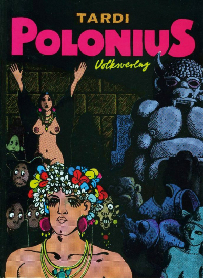 Jacques Tardi. Polonius. Graphic Novel.