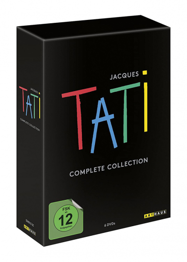 Jacques Tati. Complete Collection. 6 DVDs.