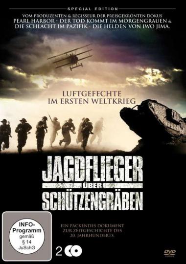 Jagdflieger über Schützengräben 2 DVDs