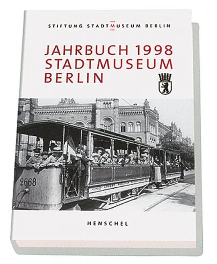 Jahrbuch 1998. Stadtmuseum Berlin. Schwerpunktthema Schule, Pädagogik, Erziehung, Spielzeug.