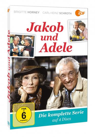 Jakob und Adele (Komplette Serie). 4 DVDs.