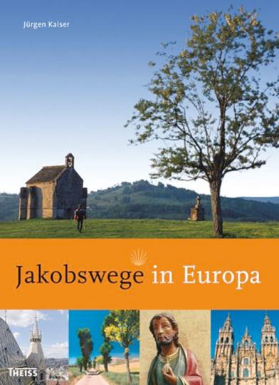 Jakobswege in Europa.