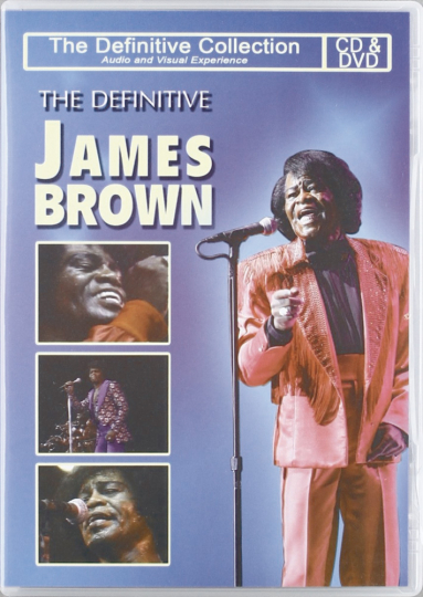 The Definitive James Brown. CD + DVD.