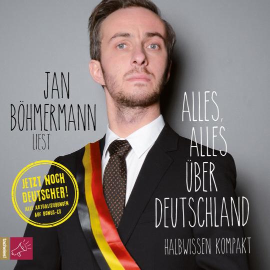 Jan Böhmermann. Alles, alles über Deutschland. Halbwissen kompakt. 3 CDs.