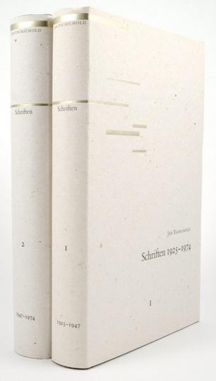 Jan Tschichold. Schriften 1925-1974.