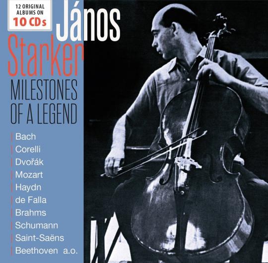 János Starker. Milestones of a Legend. 10 CDs.