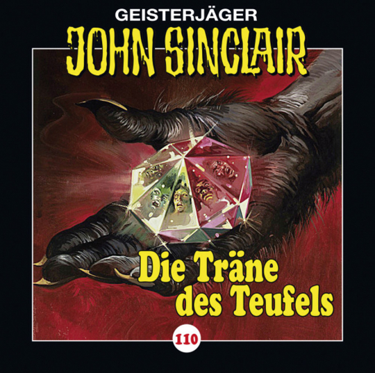 Jason Dark. John Sinclair. Folge 110. Die Träne des Teufels. Teil 2 von 3. CD.