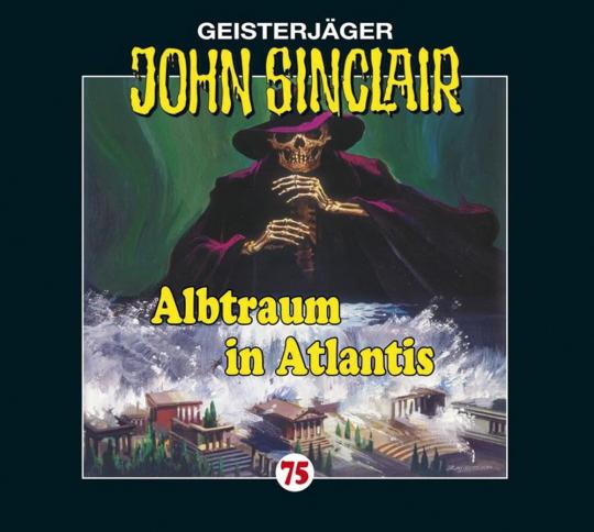 Jason Dark. John Sinclair. Folge 75. Albtraum in Atlantis. 1 Vinyl LP.