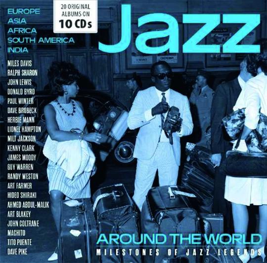 Jazz Around The World. 10 CDs.