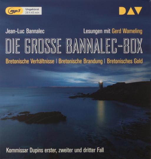 Jean-Luc Bannalec. Die große Bannalec-Box. 3 mp3-CDs.