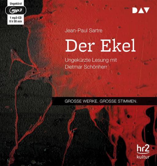 Jean-Paul Sartre. Der Ekel. mp3-CD.