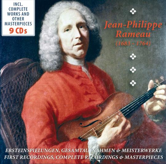 Jean Philippe Rameau Meisterwerke 9 CDs