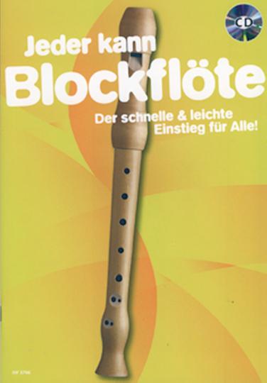 Jeder kann - Blockflöte (mit CD)