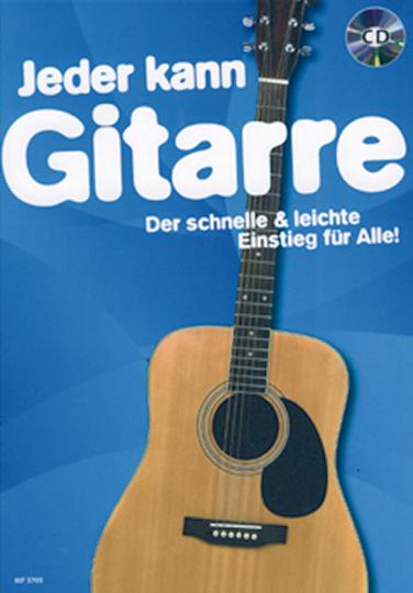 Jeder kann - Gitarre (mit CD)