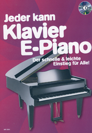Jeder kann - Klavier E-Piano (mit CD)