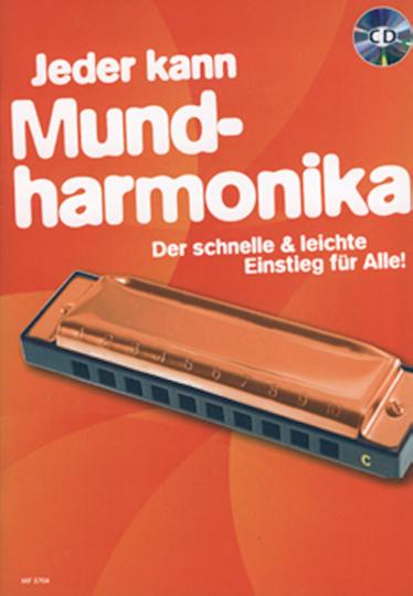 Jeder kann - Mundharmonika (mit CD)