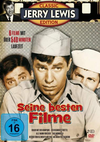 Jerry Lewis. Seine besten Filme. 2 DVDs.
