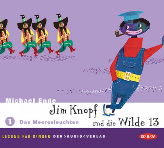 Jim Knopf und die Wilde 13. Teil 1: Das Meeresleuchten. 2 CDs.