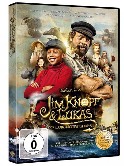 Jim Knopf & Lukas der Lokomotivführer. DVD