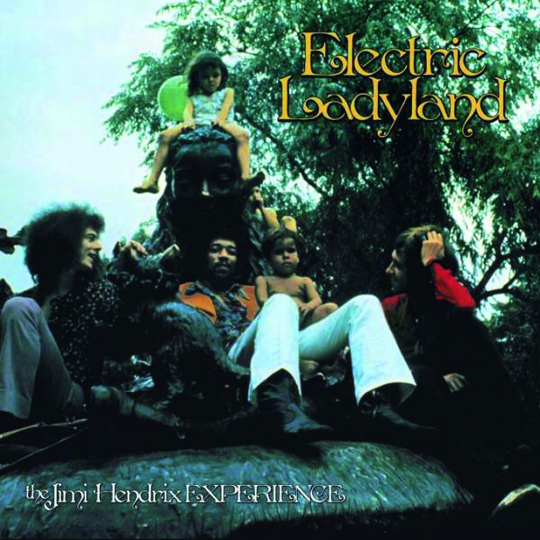 Jimi Hendrix. Electric Ladyland - 50th Anniversary Deluxe-Edition. 6 LPs, 1 Blu-ray.