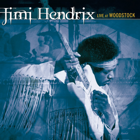 Jimi Hendrix. Live At Woodstock. CD.