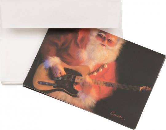 Jingle Bell Rock. 10 Weihnachts-Grußkarten mit Umschlägen.