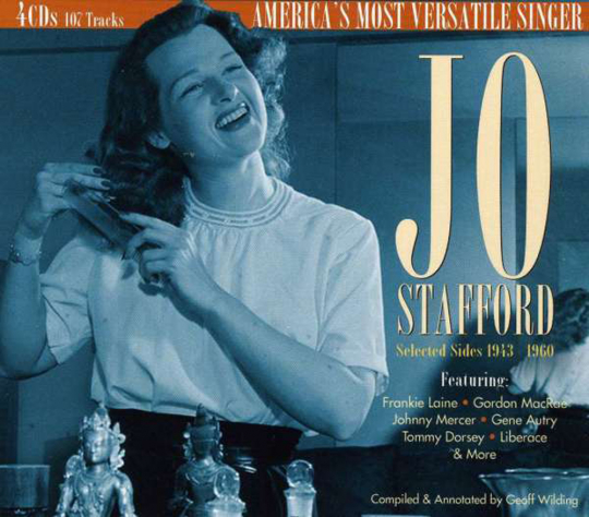 Jo Stafford. Selected Sides 1943 To 1960. 4 CDs.