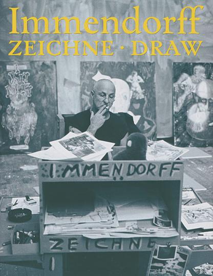 Jörg Immendorff. ZEICHNE - DRAW. Arbeiten aus seinem Archiv
