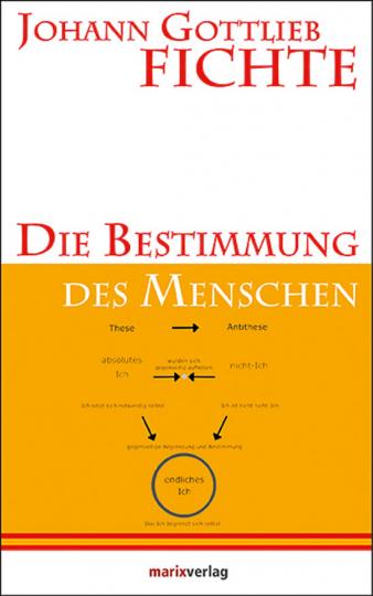 Johann Gottlieb Fichte. Die Bestimmung des Menschen.