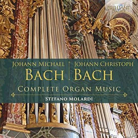 Johann Michael und Johann Christoph Bach. Sämtliche Orgelwerke. 3 CDs.